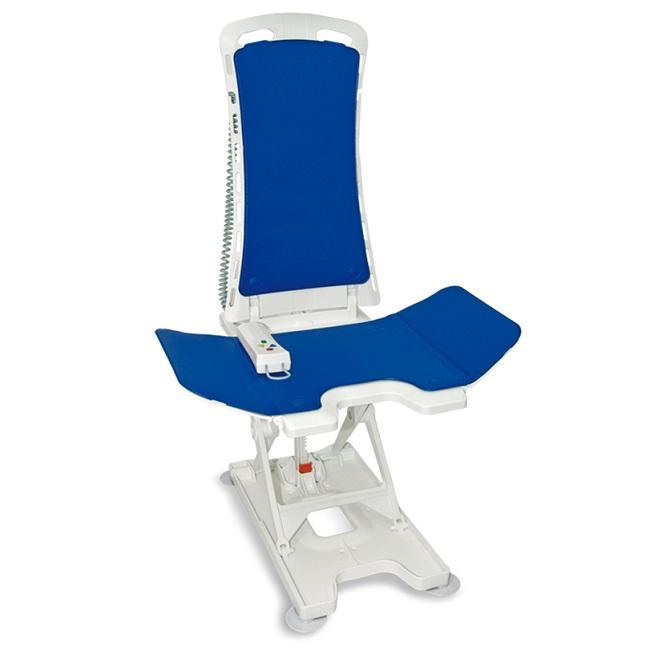 Badewannenlift Bellavita 2G – mit Bezug Comfort blau